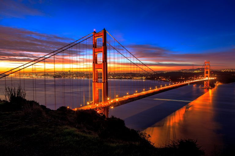 The,golden,gate,bridge,in,early,morning